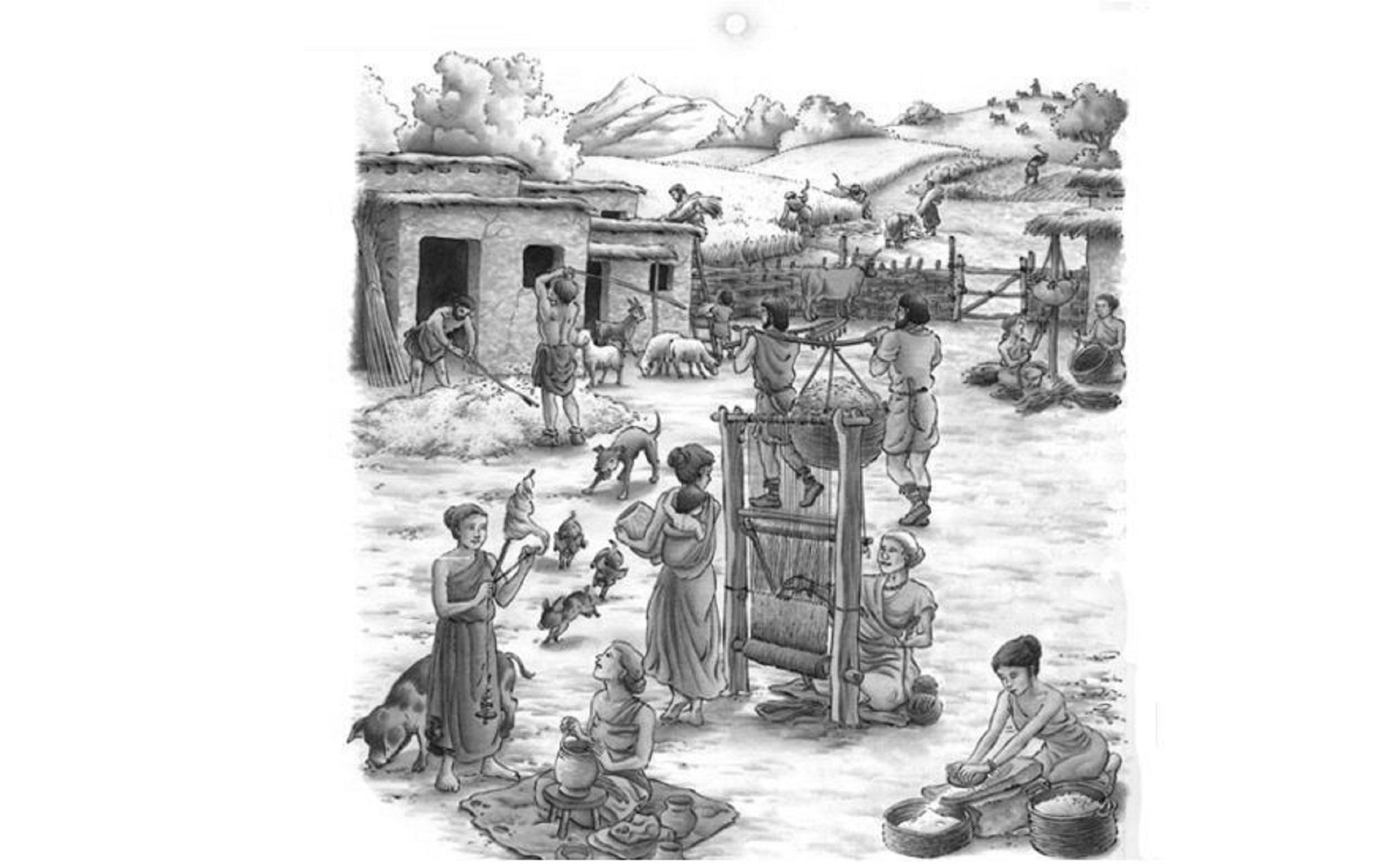 Trabajando en las Reales salinas desde la Edad de Broce,  4500 años extrayendo sal!!!